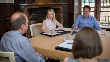 Pennington Williams Board Room Financial Advice